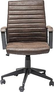 Kare Design Labora Chaise de Bureau, Autres, Marron, 61 x 57 x 105 cm