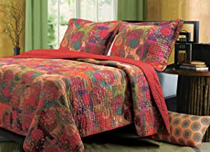 Greenland Home Fashions Jewel Quilt Set