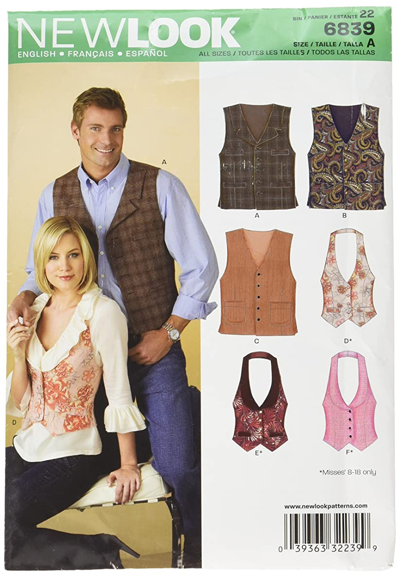Simplicity Creative Patterns New Look 6839 Miss/Men Separates, A (ALL Sizes)