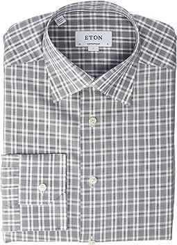 5e14137b6 Eton contemporary fit geometric shirt | Shipped Free at Zappos