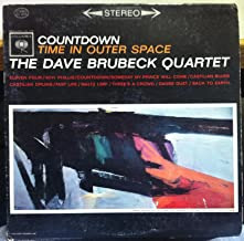 DAVE BRUBECK QUARTET COUNTDOWN TIME OUT IN OUTER SPACE vinyl record