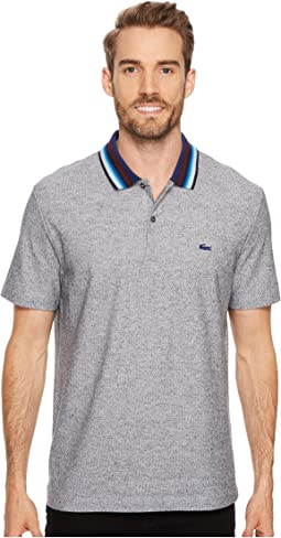 Holiday Short Sleeve Slubbed Pique Polo - Regular Fit
