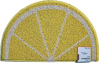 Felpudo con diseño de limón, para Regalo de inauguración de la casa (70 x 44 cm)