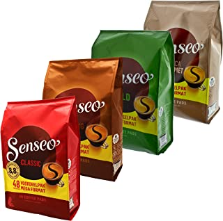 Senseo Hamster Spare Set of 2 Emergency Supply Pack Coffee Capsule Holder 4 Types 192 Pads/Servings