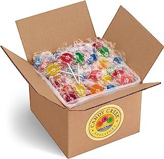 Fruit Lollipops by Candy Creek, Bulk 5 lb. Carton, Assorted Flavors