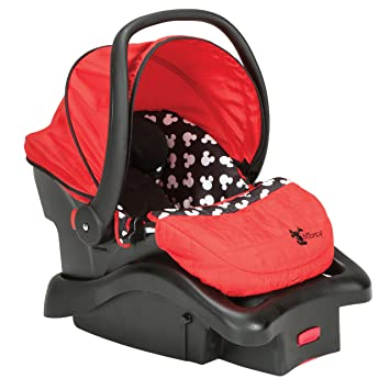 Disney Light 'n Comfy Luxe Infant Car Seat, Mickey Silhouette: image