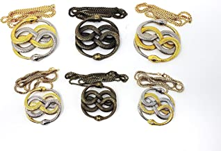 Neverending Story 1 & 2 Auryn Pendant, Medallion, Necklace Prop Replica