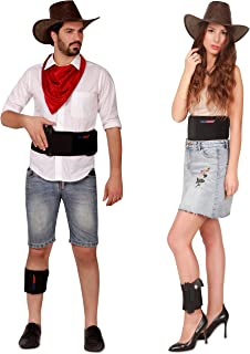 VAMDOO Fast Draw Belly Band Gun Holster with Ankle Holster (2-Piece Set) Pistols, Handguns, Revolvers Concealed Carry   Adjustable Waist, Leg   Right Handed   Unisex