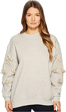 Sweatshirt with Rope Detail