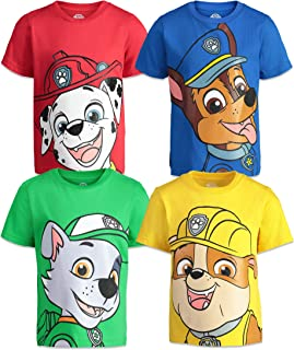 Paw Patrol Boys 4 Pack T-Shirts
