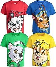Nickelodeon Paw Patrol 4 Pack Short Sleeve Graphic T-Shirt