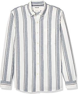 Marca Amazon - Goodthreads Slim-fit Long-Sleeve Chambray Shirt Hombre