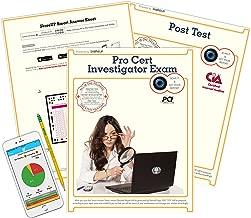 Professional Certified Investigator Exam, PCI Test Prep, Study Guide