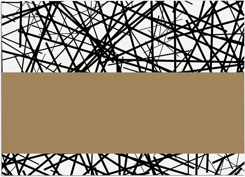 KESS InHouse TK1037ADM02 Trebam Kava Black White Dog Place Mat, 24  x 15