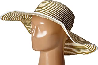 Women's Morgana Metallic Straw Packable Sun Hat, Rated UPF 50+ for Max Sun Protection