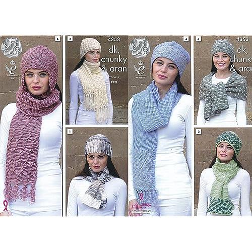 Scarf Knitting Patterns Amazon Co Uk