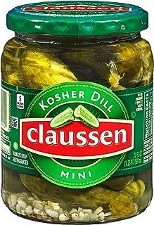 Claussen Kosher Dill Mini Pickles (20 oz Jar)
