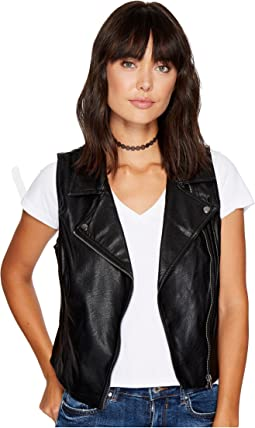 Jack by BB Dakota - Kenedie Textured PU Moto Vest