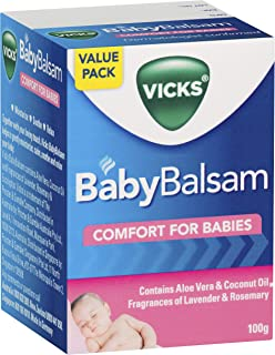 Vicks BabyBalsam Decongestant Rub, 100 grams