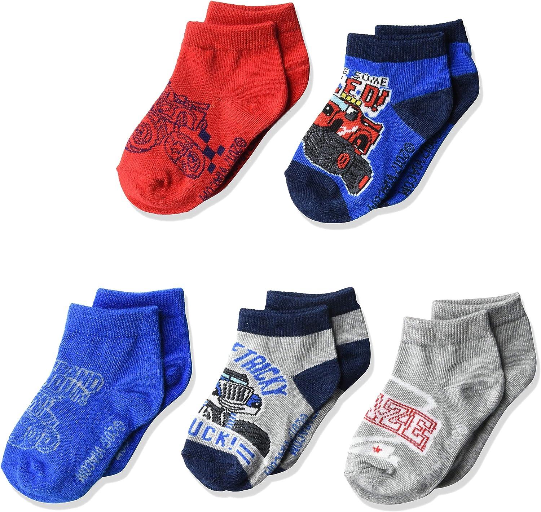 Blaze & The Monster Machines Boys 5 Pack Shorty Socks