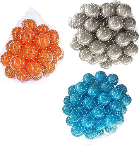 tienda de venta Pelotas para pelotas pelotas pelotas baño variadas Mix con turquesa, gris y naranja Talla 6000 Stück  las mejores marcas venden barato