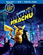 Pokemon Detective Pikachu (Blu-ray + DVD + Digital)