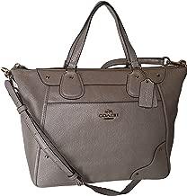 Coach Caviar Grain Leather Mickie Satchel Handbag