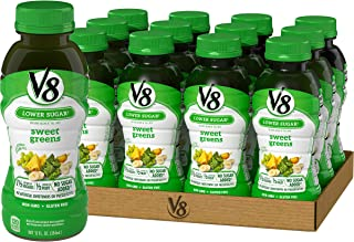 V8 Sweet Greens, 12 oz. Bottle (Pack of 12)