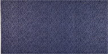 Stof Fabrics of Denmark Stoffabric Denmark Christmas Wonders Writing in Silver Metallic Blue