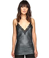 HOUSE OF HOLLAND - Chainmail Metallic Slip Top