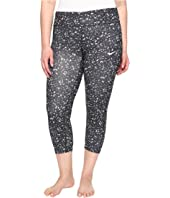 Nike - Power Essential Print Crop (Size 1X-3X)