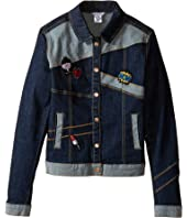 Little Marc Jacobs - Denim Jacket with Fancy Patches (Big Kids)