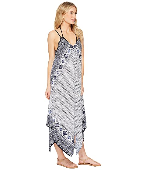 943658cdb2 Tommy Bahama Tika Tiles Scarf Dress Cover-Up, Dark Sanibel Blue ...