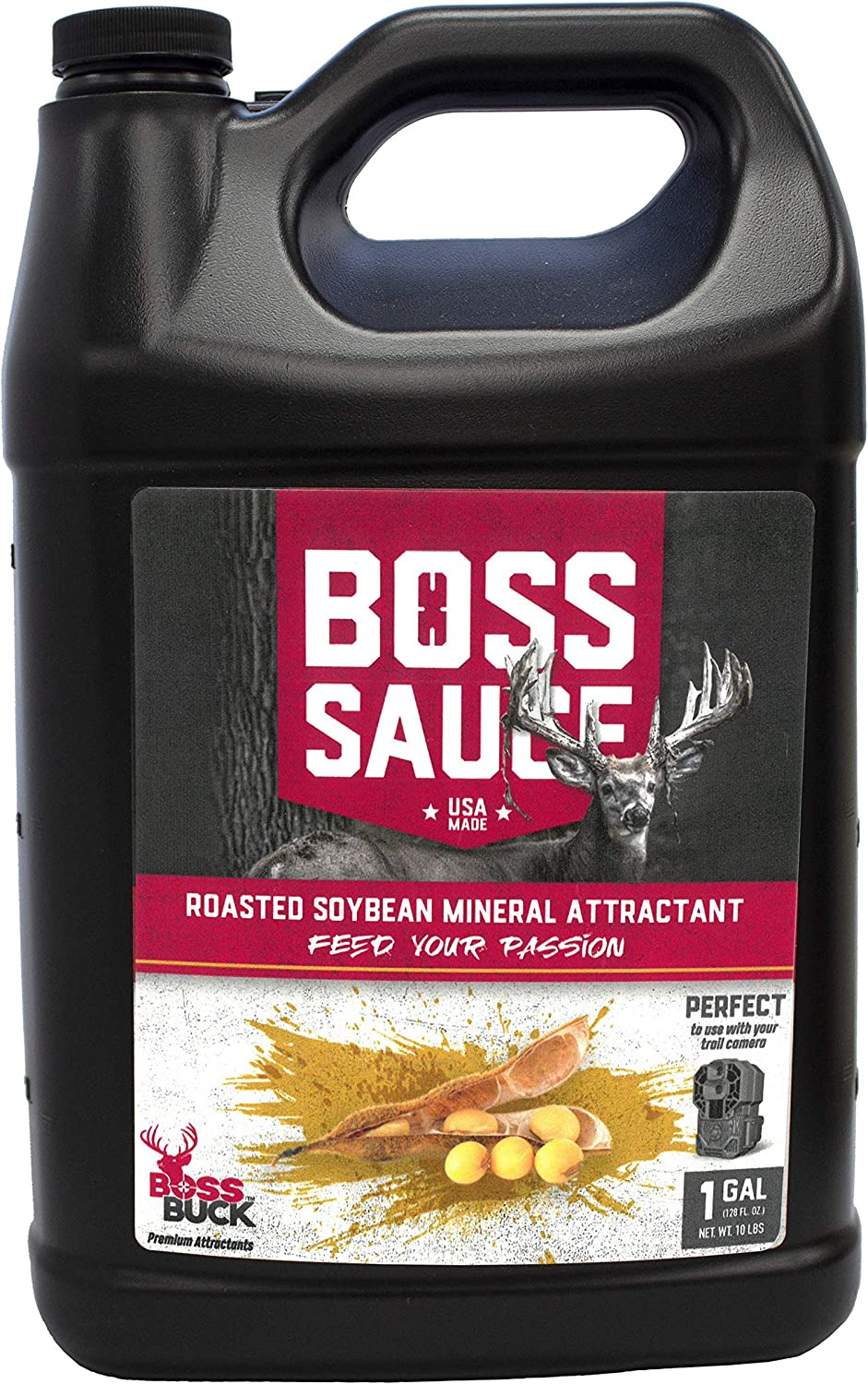 Boss Ranking TOP15 Buck Sauce - Roasted Attractant Multi Soybean Fort Worth Mall 1Gal