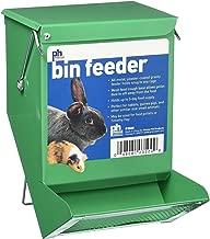 Prevue Pet Products SPV3500 Metal Small Animal Bin Feeder, Green