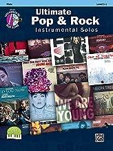 Ultimate Pop & Rock Instrumental Solos: Flute, Book & CD (Ultimate Pop Instrumental Solos Series)