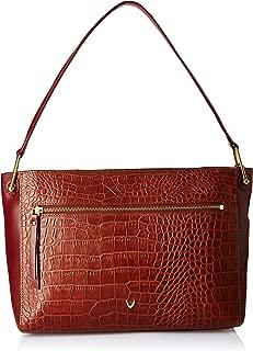 Hidesign Women's Shoulder Bag (Tan Red)