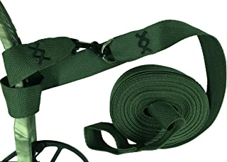 Campingandkayaking Bow Easy Lift, Bow Pull up Strap Over 27' long! Easy on your hands in Cold or Wet Weather. A Double Wrap Connection System Insures Your Equipment is Safe. Made in the USA