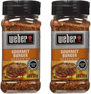 Weber Gourmet Burger Seasoning - 2 Pack