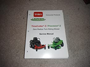 toro timecutter manual