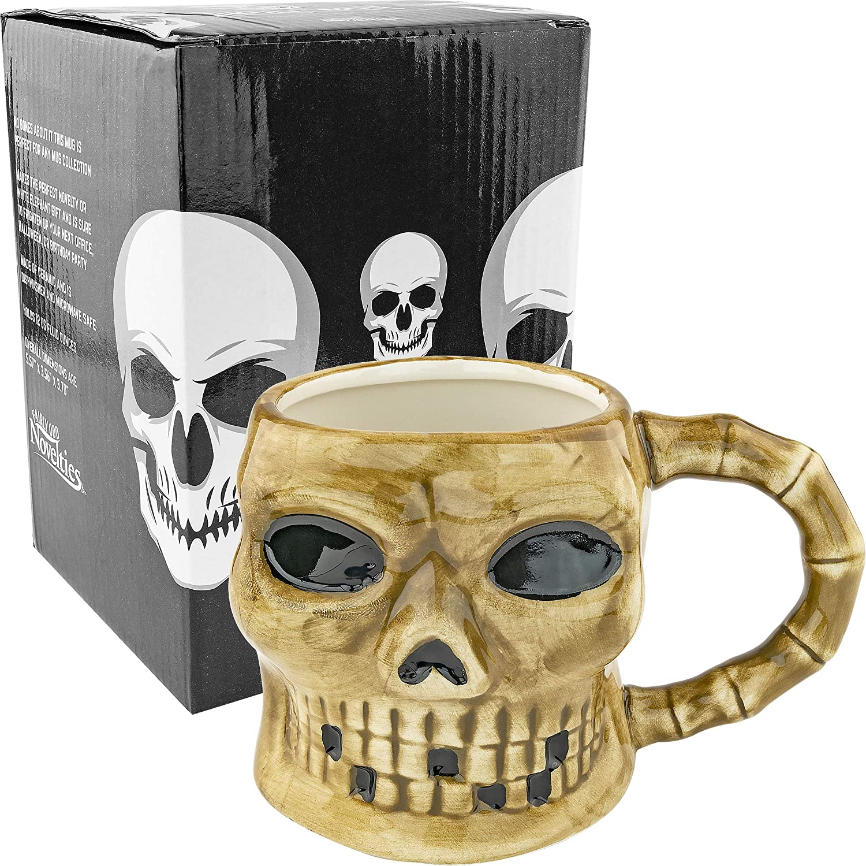 Large Skull San Diego Mall Ceramic Free Shipping New Mug Coffee