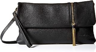 Leatherbay 50165 Bella Clutch, Black