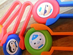 Unbranded 12 Octonauts Disk Shooters for Birthday Party Favors