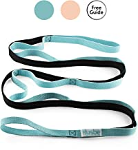 Husbe Stretch Strap, Exercise Physical Therapy Yoga Strap, Leg Stretching Out Strap, Manual Instruction, Carry Bag
