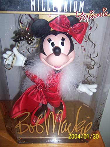 1999 Disney Collector Doll - Bob Mackie Millennium Minnie Doll