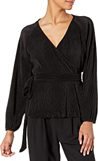 ASTR the label Women's Becca Long Sleeve Crossover Top