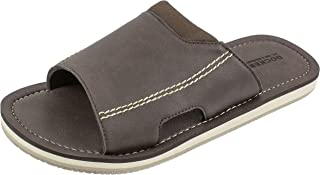 Men's Sandal, Slide Sandal with Premium and Classic Comfort, PU Upper, Men's US Size 7 to 16 Big and Tall