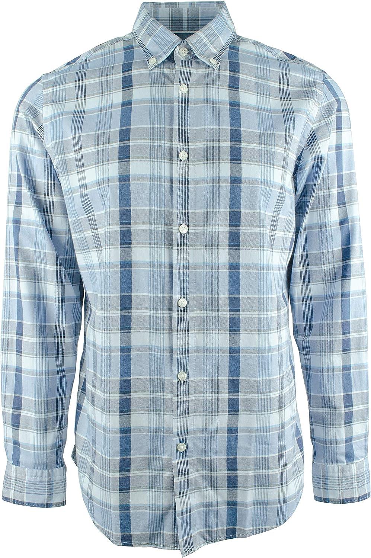 Hugo Boss Men's Lod Regular Fit Long Sleeve Shirt