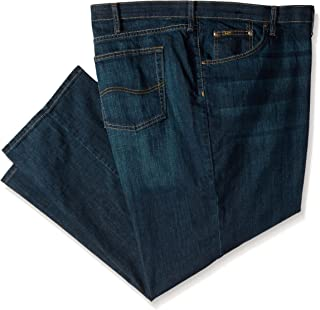 Lee Men's Big & Tall Custom Fit Relaxed Straight Leg Jean