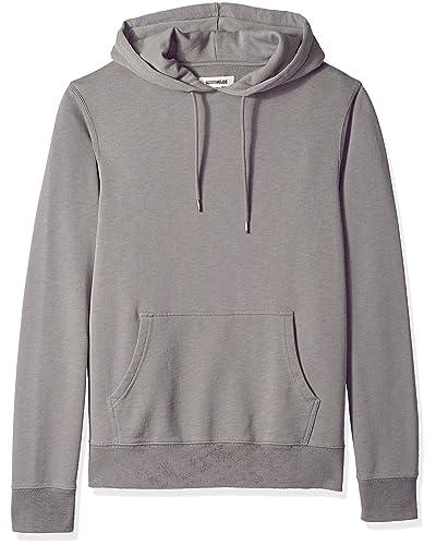 Grey Pullover Hoodie: